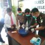 Polres Natuna Musnahkan BB Narkoba Jenis Sabu