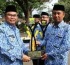 Upacara Peringatan Hari Otonomi Daerah Ke-22 di buka Wakil Bupati Sukabumi
