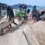 Jalan Penghubung Sabang Mawang-Tanjung Batang, Sudah 75 Persen