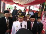 Ketua DPRD Heri Agus Setiawan,S.SosTanggamus Bacakan Naskah Proklamasi Kemerdekaan