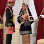 Rayakan HUT RI Ke 73 ,Presiden Jokowi Berbaju Adat Aceh.