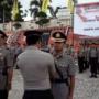 Kapolres Pimpin Upacara Sertijab Perwira Polres Tanggamus