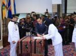 M. Ridho Ficardo Resmi Lantik  Hj. Dewi Handajani
