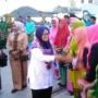 Kunjungan Perdana, Wabup Di Kota Serasan.